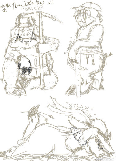 Good 3 Pigs sketch