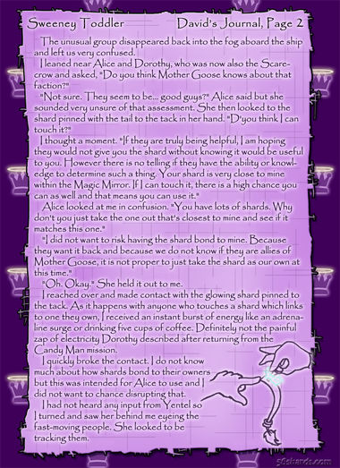 """Sweeney Toddler"" 8: David's Journal, Pg. 2"