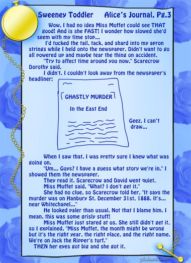 """Sweeney Toddler"" 10: Alice's Journal, Pg. 3"
