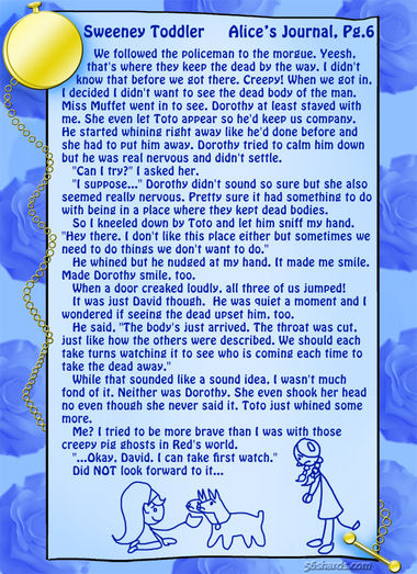 """Sweeney Toddler"" 20: Alice's Journal, Pg.6"