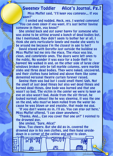 """Sweeney Toddler"" 21: Alice's Journal, Pg.7"