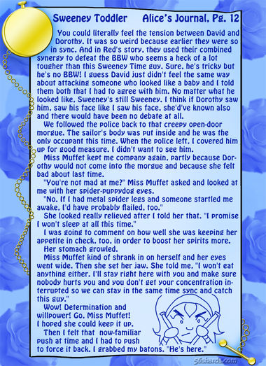 """Sweeney Toddler"" 37: Alice's Journal, Pg.12"