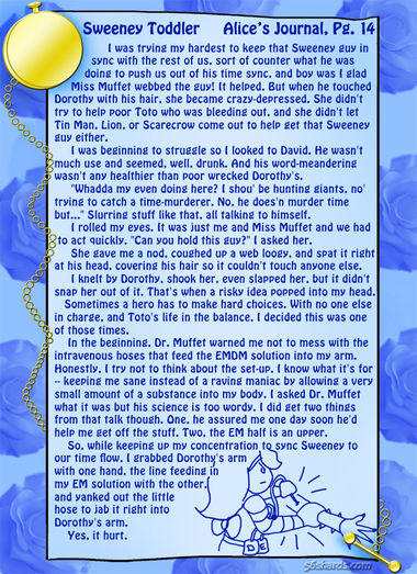 """Sweeney Toddler"" 49: Alice's Journal, Pg.14"