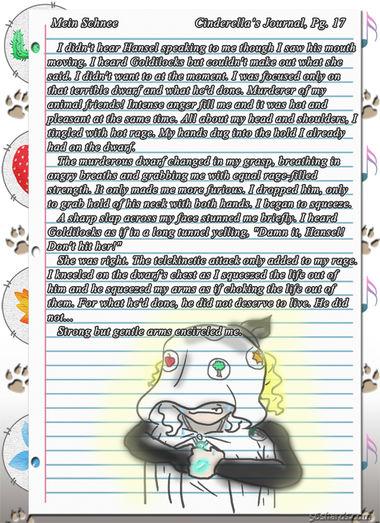 """""""Mein Schnee"""" 92: Cinderella's Journal, Pg.17"""