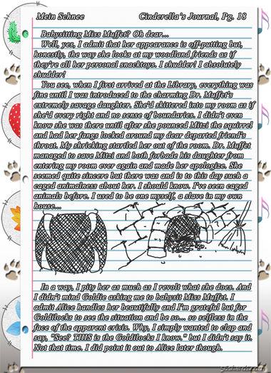 """""""Mein Schnee"""" 100: Cinderella's Journal, Pg.18"""
