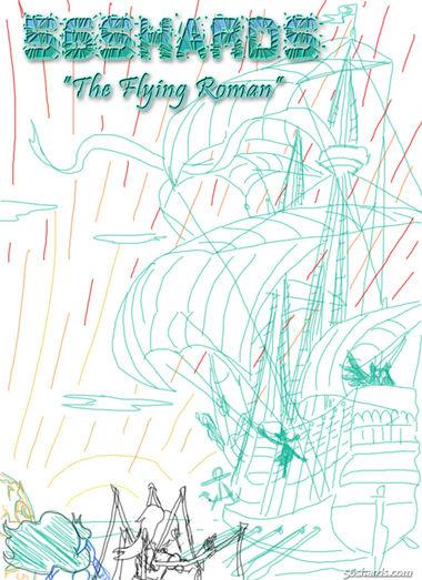"""""""Flying Roman"""" Cover Design 1"""