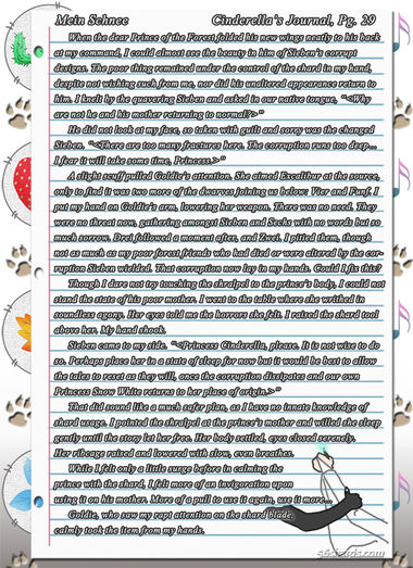 """""""Mein Schnee"""" 150: Cinderella's Journal, Pg.29"""