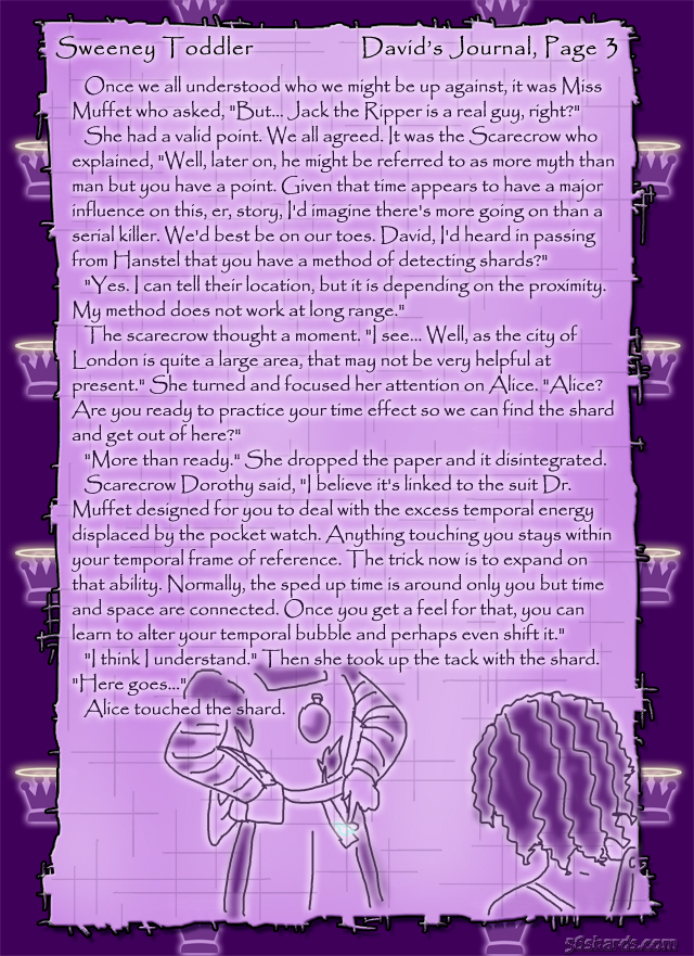"""Sweeney Toddler"" 11: David's Journal, Pg.3"
