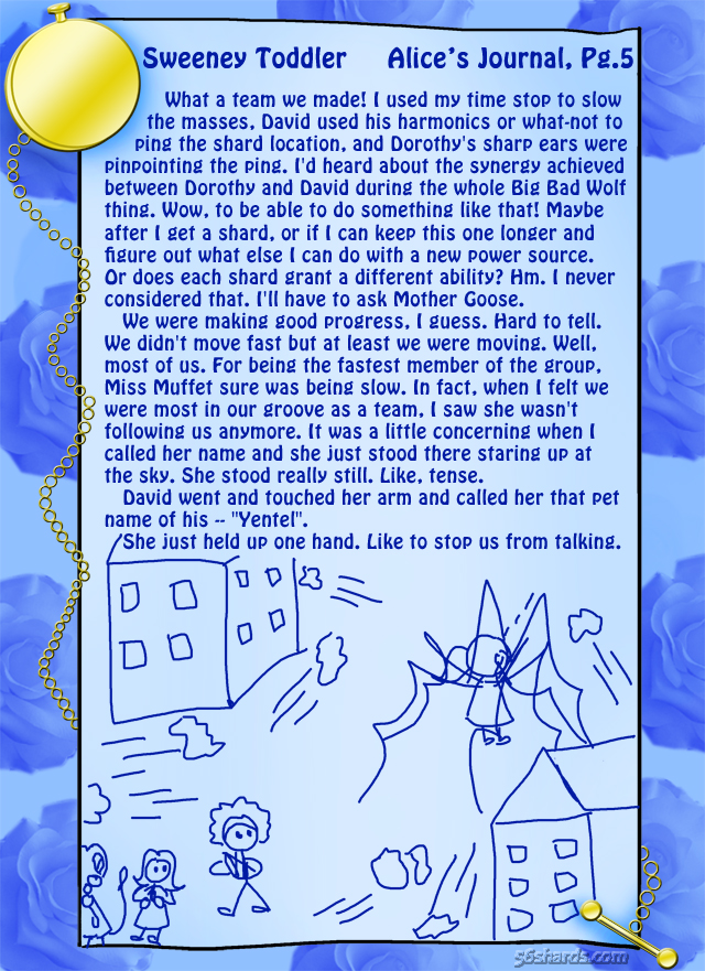 """Sweeney Toddler"" 16: Alice's Journal, Pg.5"