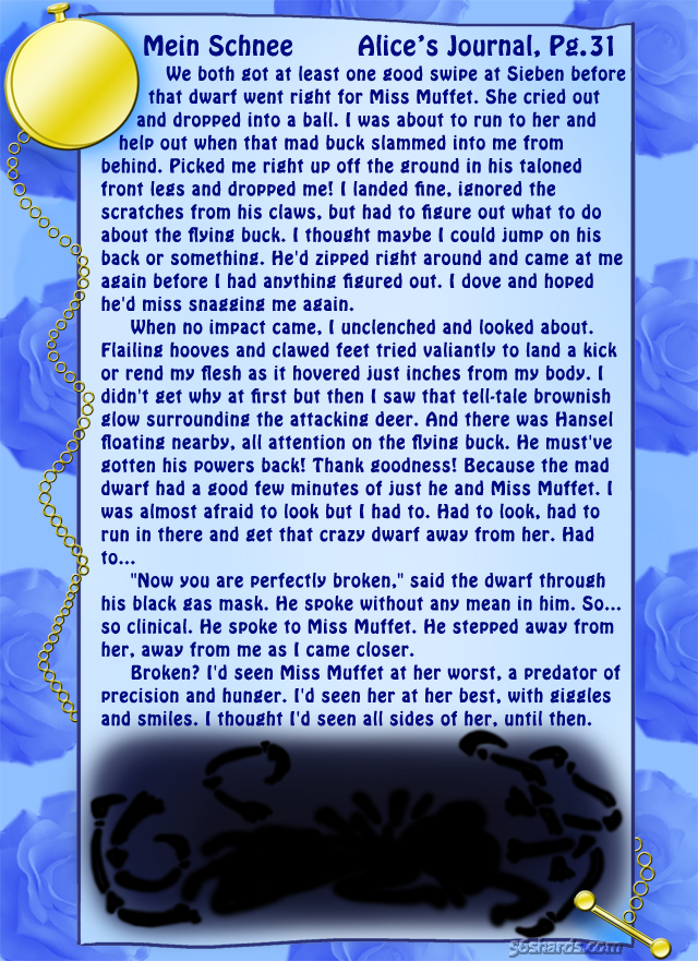 """Mein Schnee"" 141: Alice's Journal, Pg.31"