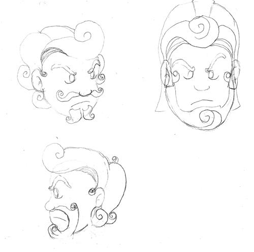 Onka Wonka Heads