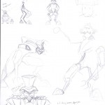 Choco-Mech Sketches